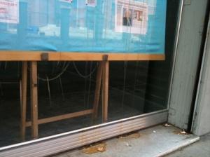 la vetrina insozzata