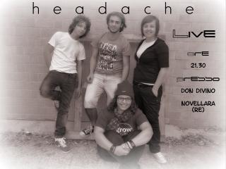 Headache volantino