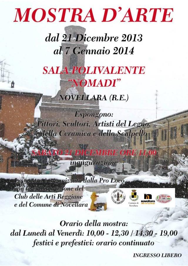 Una delle mostre più ampie in Emilia Romagna Esporranno quasi 70 artisti provenienti da tutto in nord Italia, appartenenti a diverse correnti artistiche.