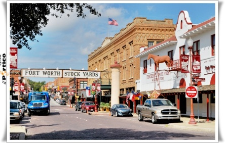 Fort Worth Stockyards Exchange Ave E Texas