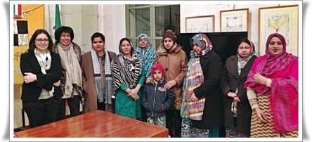 incontro comunità pakistan