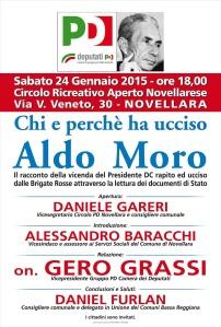 IL CASO MORO - GERO GRASSI  a NOVELLARA