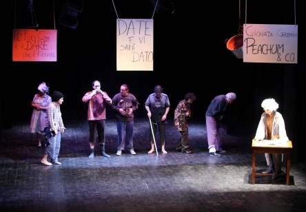 L'Opera da tre soldi-B.Brecht-rassegna 2011