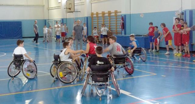 Basket - disabili