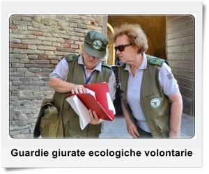 Guardie giurate ecologiche volontarie