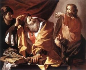 La vocazione di S.Matteo. Terbrugghen