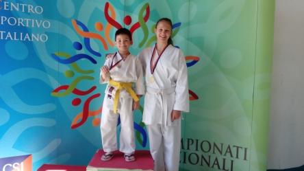 Karate oro