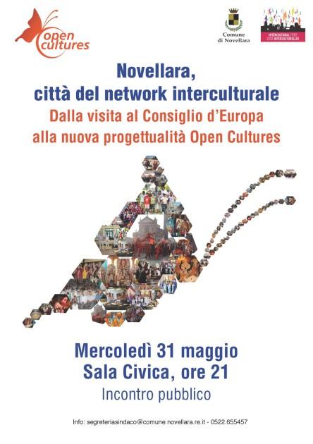 Novellara città del network interculturale 31 maggio